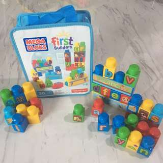 Mega Bloks First Builders 30 pcs