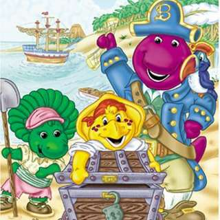 barney and frend
