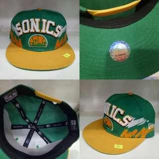 NBA Retro Snapback Seattle Sonics