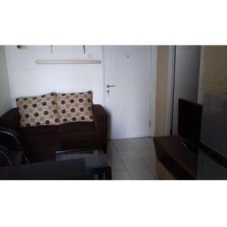 Disewakan Apartemen Green Pramuka City 2BR Full Furnish Murah