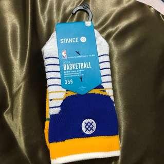 STANCE Basketball Crew Socks (GSW)