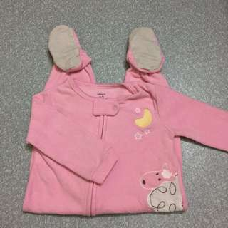 Carter's sleepsuit 24m