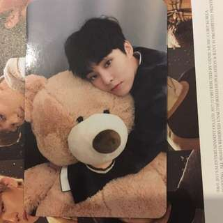 EXO UNIVERSE WINTER ALBUM UNSEALED WITH XIU MIN PC