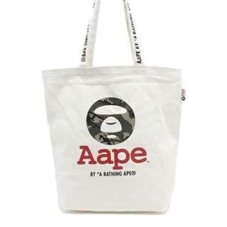 AAPE 手提袋 購物袋 手袋 購於日本 原價1400
