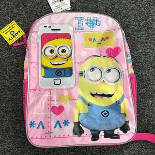 "Sale Minion backpack 16"""