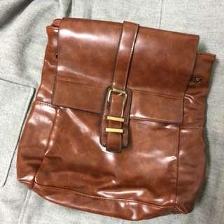 韓風方形後背包