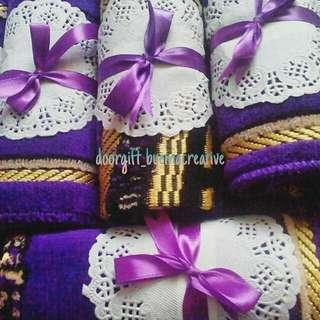 Mini sejadah + dolly + ribbon