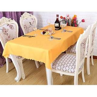 Polyester Fabric Tablecloth – Merigold