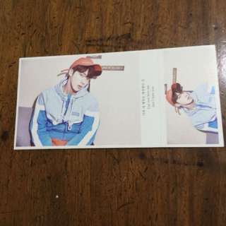 BTS postcards available:Jhope,Namjoon,Jin