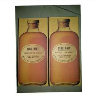 日本Nikka Pure Malt Whisky Black & Red