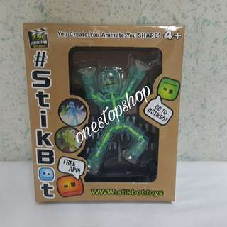 Shop : STICKBOT TOYS YOU CREATE YOU ANIMATE YOU SHARE
