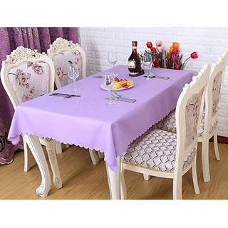 Polyester Fabric Tablecloth – Lavender