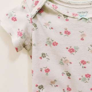 Carter's Floral Baby Romper