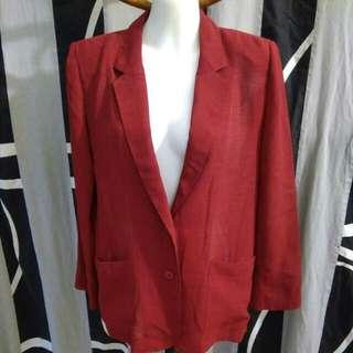Sale 161 * Beautiful Red Blazer