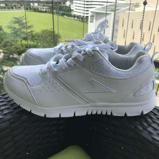 Bata white school shoes