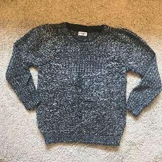 英國牌灰色上身Knitwear