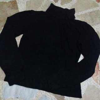 MNG Turtle Neck Long Sleeve Top