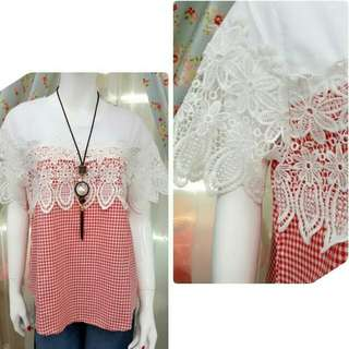 Top Katun Brukat