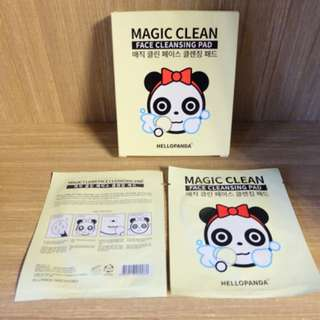Magic Clean Pad Facial Cleansing Hello Panda
