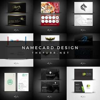 NAMECARD DESIGN / LOYALTY CARD/ MEMBERSHIP CARD DESIGN ETC