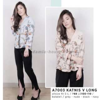 Katnis V long ( grey )