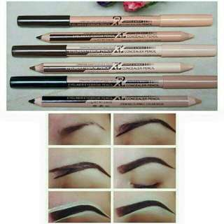 Onhand!!!Eyebrow liner with concelear