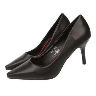 代購❤️英國品牌通勤百搭黑色跟鞋