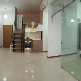Studio 614 sq feet