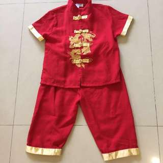 CNY Toddler Chinese Costume