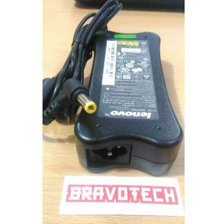 Adaptor original LENOVO 19V 3.42A 5.5X2.5mm Bergaransi termasuk kabel power