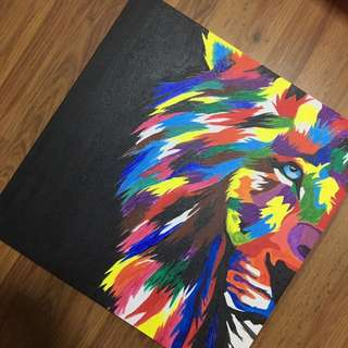 DRAWN BY ME. 'The Lion'