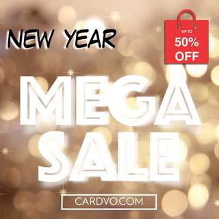 MEGA SALE @ CARDVOLUTION.COM