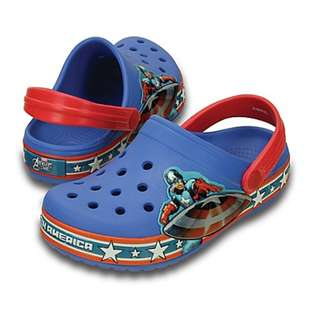 CROCS  Captain America Boy