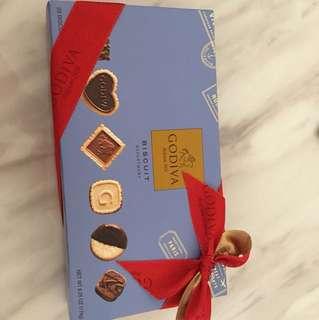 Godiva chocolate biscuit 朱古力餅禮盒