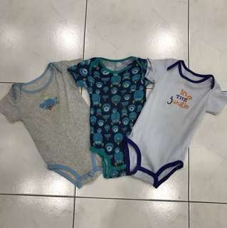 Carters romper 3 for RM15