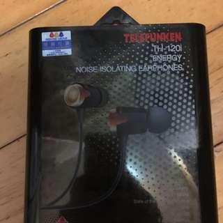 TH-120i 入耳式耳機 90% New 原裝正貨 有盒有單