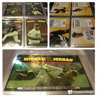 Michael Jordan Baseball MJ 1-5