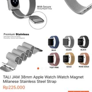 Strap apple watch milanese magnet 38