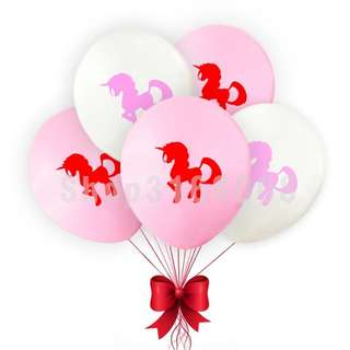 "Unicorn 10"" Balloons"