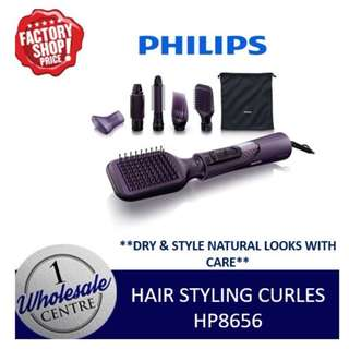 PHILIPS HP8656 HAIR STYLING CURLES