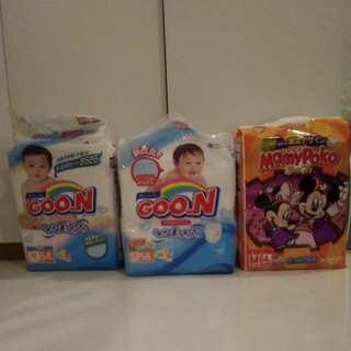 Goon & MamyPoko Diapers - Size M