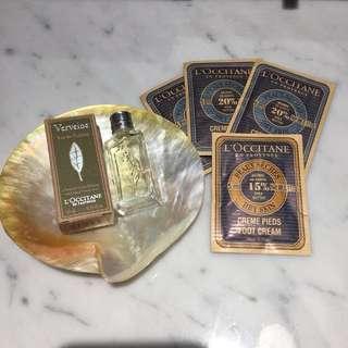 L'Occitane Perfume and Cream Bundle