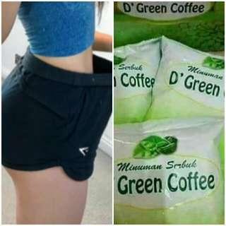 green coffe + green tea