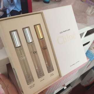 Chloe perfume set rollerball perfume
