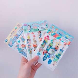 Disney Bookmark Sticker 🤓 Toystory SnowWhite Dumbo