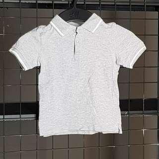 Cotton On Kids Grey Polo