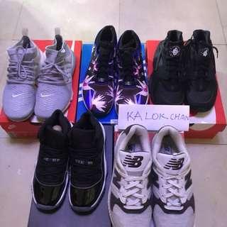 Used Nike Air Jordan 11 space jam aj11 37.5 5Y