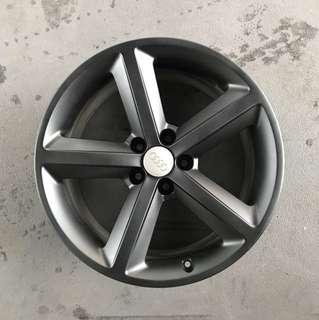 """Used 18"""" Original Audi Rims"""
