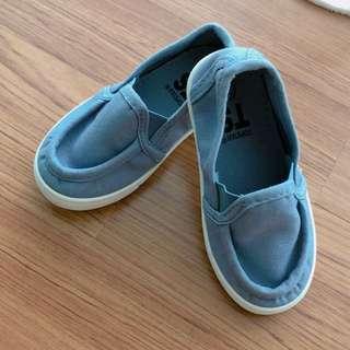 Top star blue unisex shoe