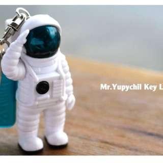 五月天 頑固 太空人 發光 鑰匙圈 藍色
